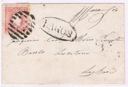 Portugal, 1870/6, # 40 Dent. 12 1/2, Tipo VII, Lagos-Lisboa - 1862-1884: D.Luiz I