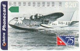 AUSTRALIA B-282 Magnetic Telstra - Traffic, Historic Airplane - Used - Australien