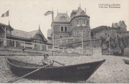 """VEULES-les-ROSES: Villa """"La Terrasse"""" (barque Au Premier Plan) - Veules Les Roses"""