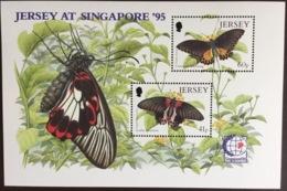 Jersey 1995 Butterflies Minisheet MNH - Papillons