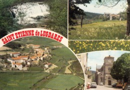 07 - Saint Etienne De Lugdares : Multivues - CPM Neuve - Francia