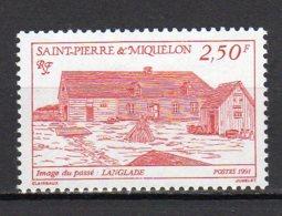 Saint-Pierre Et Miquelon Yvert N° 542 Neuf Langlade Lot 22-48 - St.Pierre & Miquelon