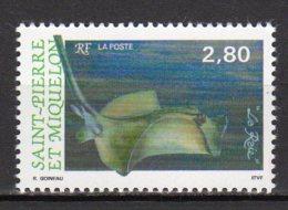 Saint-Pierre Et Miquelon Yvert N° 582 Neuf Poissons ( Raie ) Lot 22-86 - St.Pierre & Miquelon