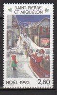 Saint-Pierre Et Miquelon Yvert N° 591 Neuf Noel Lot 22-94 - St.Pierre & Miquelon