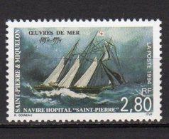"Saint-Pierre Et Miquelon Yvert N° 598 Neuf Navire Hôpital ""Saint-Pierre"" Lot 22-101 - St.Pierre & Miquelon"