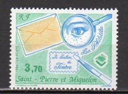 Saint-Pierre Et Miquelon Yvert N° 606 Neuf Le Salon Du Timbres à Paris Lot 22-108 - St.Pierre & Miquelon