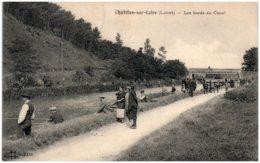 45 CHATILLON-sur-LOIRE - Les Bords Du Canal - Chatillon Sur Loire