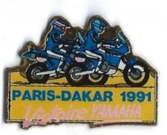 MOTOS - M51 - PARIS-DAKAR - VICTOIRE YAMAHA - Verso : SM - Motorräder