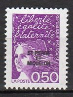 Saint-Pierre Et Miquelon Yvert N° 658 Neuf Marianne Du 14 Juillet Lot 22-156 - St.Pierre & Miquelon