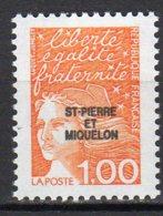 Saint-Pierre Et Miquelon Yvert N° 663 Neuf Marianne Du 14 Juillet Lot 22-162 - Ungebraucht