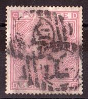 GB - 1867/82 - N° 43a (SG N° 134) - Papier Blanc - Filigrane Ancre - CD-DC - 1840-1901 (Victoria)