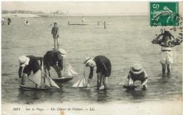 Y - CPA - 62 - Sur La Plage - Le Départ Des Voiliers - - Berck