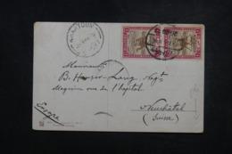 SOUDAN - Affranchissement Plaisant De El Obeid Sur Carte Postale Pour La Suisse En 1912 - L 45665 - Sudan (...-1951)