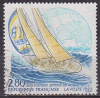 Whithbread: Voile - FRANCE - Mappemonde Et Voilier - N° 2831 - 1993 - France