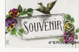 ERINGHEM  -  Souvenir D'Eringhem  -  Carte Fantaisie  - - Francia