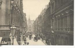 29065) UK GB London King Street Cheapside & Guildhall By Tuck's Town & City Series - London