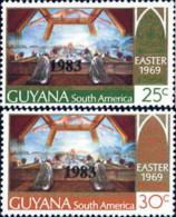 Ref. 163482 * NEW *  - GUYANA . 1983. EASTER. PASCUA - Guyana (1966-...)