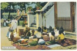MYANMAR (BURMA) - Boys At School - D.A.Ahuju, Rangoon - Myanmar (Birma)