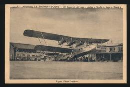 AERODRME LE BOURGET DUGNY - AVION ,, SCYLLA ,, TYPE ,, SHORT ,, - LIGNE PARIS LONDRES - 1919-1938: Fra Le Due Guerre