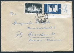 1948 Switzerland Lugano Molino Nuovo Cover - Munchen Germany - Switzerland