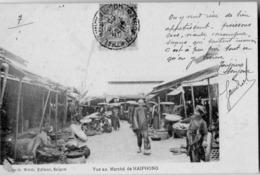 TONKIN - Vue Au Marché De Haïphong - Viêt-Nam