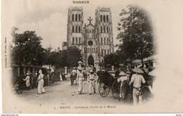 TONKIN - Hanoï - Cathédrale (sortie De La Messe) - Viêt-Nam