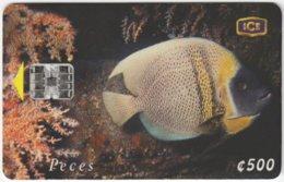 COSTA RICA A-189 Chip ICE - Animal, Sea Life, Fish - Used - Costa Rica