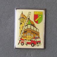 1 Pin's Sapeurs Pompiers De COLMAR (HAUT RHIN - 68) - Brandweerman