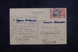 ETHIOPIE - Affranchissement Plaisant D'Addis Abeba Sur Carte Postale Pour La France En 1920 - L 45675 - Äthiopien