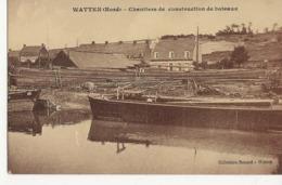 WATTEN (Nord)  Chantier De Construction De Bateaux - Autres Communes