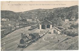 LE CREUSOT - Intérieur De La Gare Des Marchandises - Le Creusot