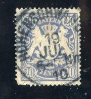 GS 1390 Bavaria 1888 Mi.#57 (o)  (cat. 1.60€) - Bayern