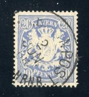 GS 1391 Bavaria 1888 Mi.#57 (o)  (cat. 1.60€) - Bayern