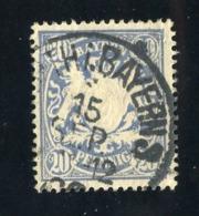 GS 1392 Bavaria 1888 Mi.#57 (o)  (cat. 1.60€) - Bayern