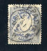 GS 1393 Bavaria 1888 Mi.#57 (o)  (cat. 1.60€) - Bayern