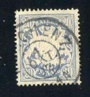 GS 1394 Bavaria 1888 Mi.#57 (o)  (cat. 1.60€) - Bayern
