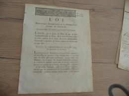 Révolution 23 Mai 1792 Loi Relative Aux Entrepreneurs De La Manufacture D'armes De Charleville Ardennes - Gesetze & Erlasse