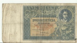 PL 20 ZL  1931 CR4216545 - Polonia