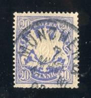 GS 1398 Bavaria 1888 Mi.#57 (o)  (cat. 1.60€) - Bayern