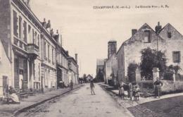 CHAMPIGNE - La Grande Rue - Francia
