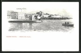 Lithographie Siracusa, Grand Hotel - Siracusa