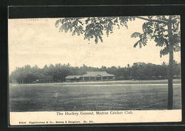 AK Madras, The Hockey Ground Of Cricket Club - Inde