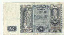 PL 20 ZL  1936  BK0229451 - Polonia