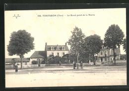 CPA Torteron, Le Rond-point De La Mairie - Sin Clasificación