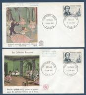 France - FDC - Premier Jour - Edgar Hilaire Germain Degas - Paris - 1960 - FDC