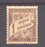 0ob  0412  -  France -  Taxes   :  Yv  40  * - 1859-1955 Mint/hinged