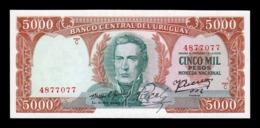Uruguay 5000 Pesos 1967 Pick 50b SC UNC - Uruguay