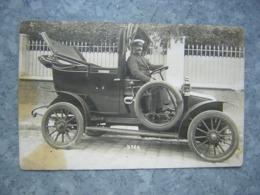CARTE PHOTO - ANCIENNE AUTO - TAXI ? - Taxi & Carrozzelle