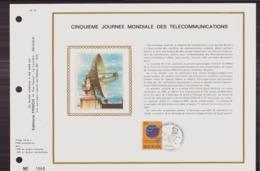 BELGIQUE DOCUMENT DE LA POSTE DU 12 MAI 1973 LESSIVE CINQUIEME JOURNEE MONDIALE DES TELECOMMUNICATIONS - Documents Of Postal Services
