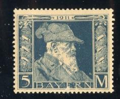 GS 1422 Bavaria 1911 Mi.#89 II*   (cat. 16.€) - Bayern (Baviera)
